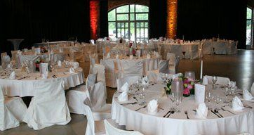 Beispiel: Hochzeitsgedeck, Foto: Rohrmeisterei.