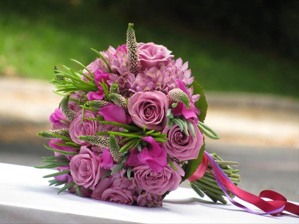 Bouquet de Noiva Rosa Vintage