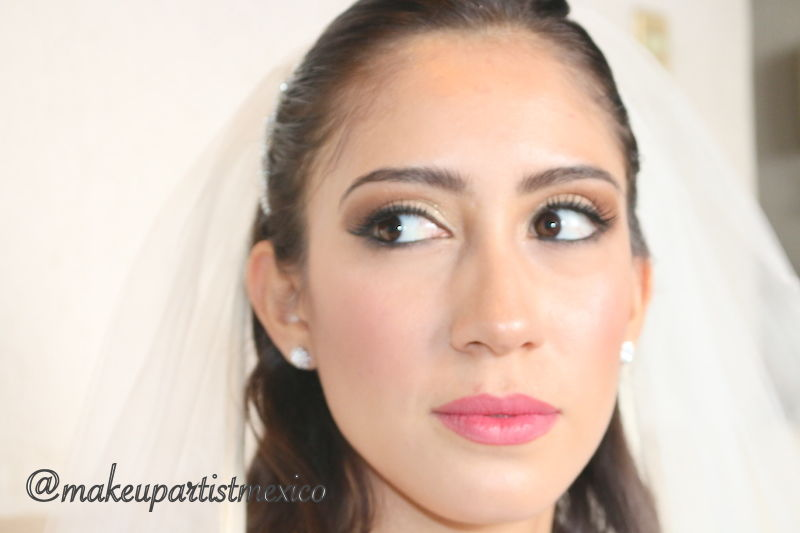 Look natural maquillaje de dia radiante. Makeup Artist Mexico