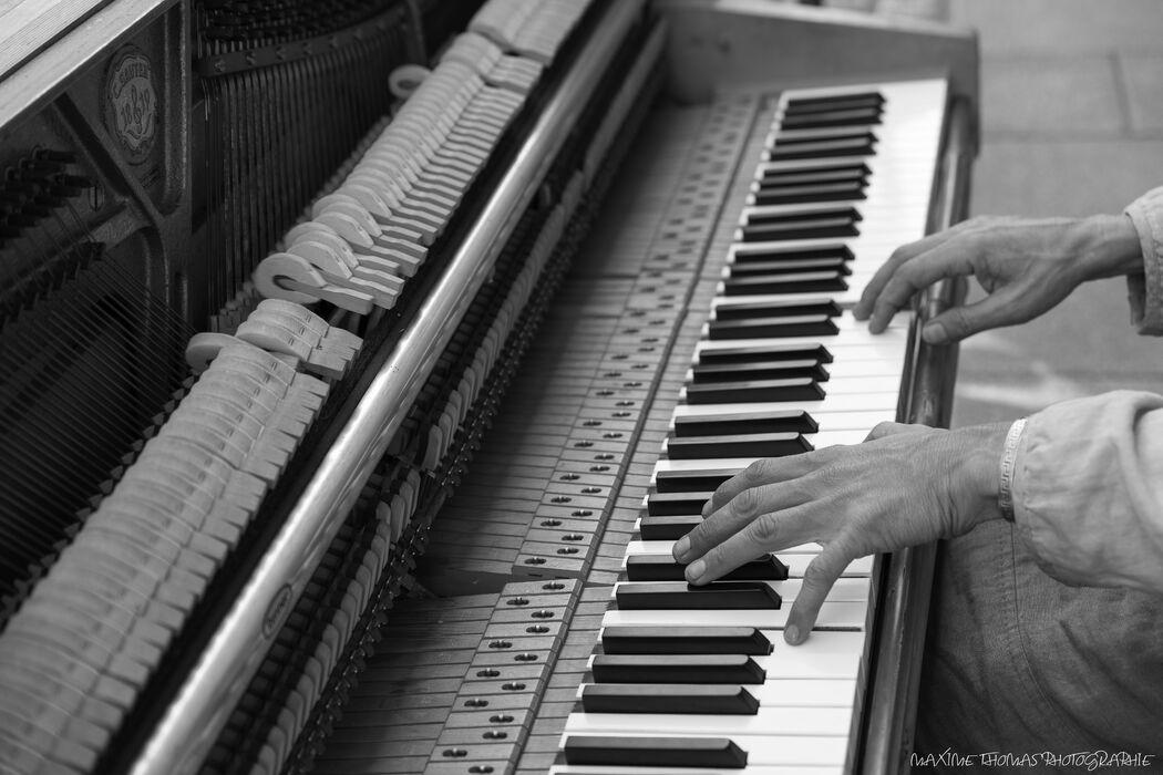 La Pianoteuse à Roulettes