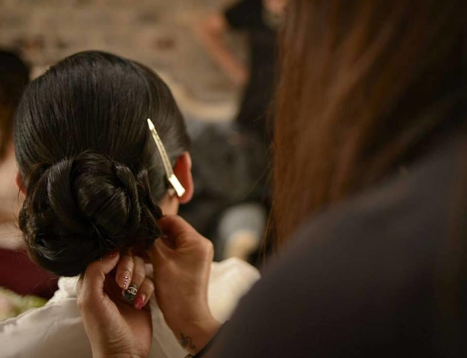 Sandra Díaz hair stylist & Make Up