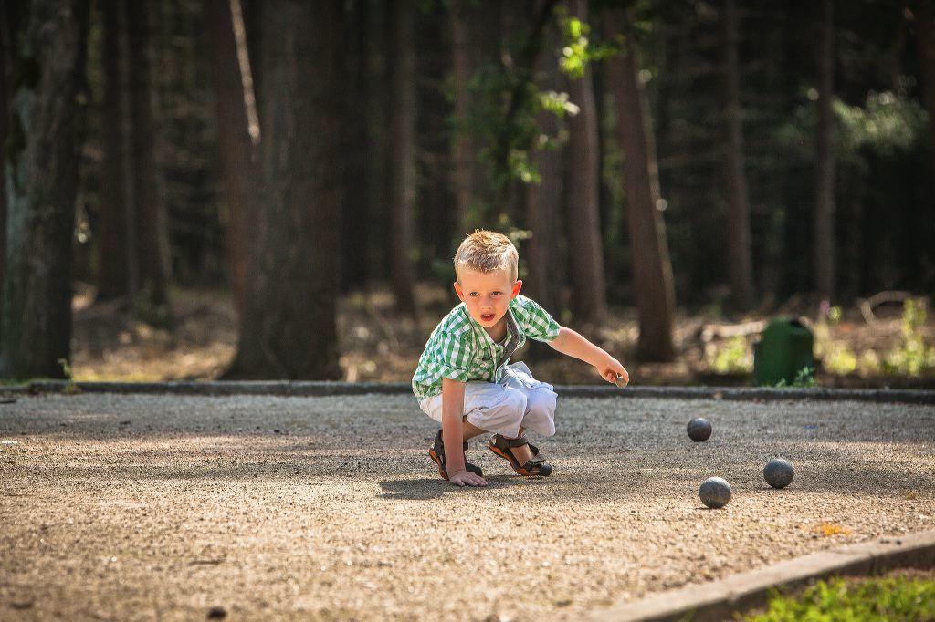 Kinderen genieten volop van alle speelruimte
