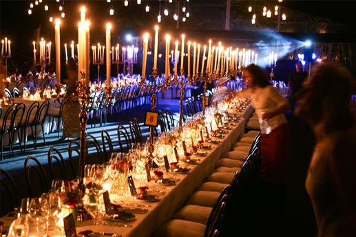 Beispiel: Tischdekoration, Foto: Lilli's Feststadl.