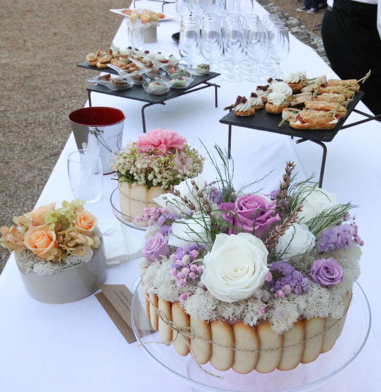 Le Gâteau de Fleurs