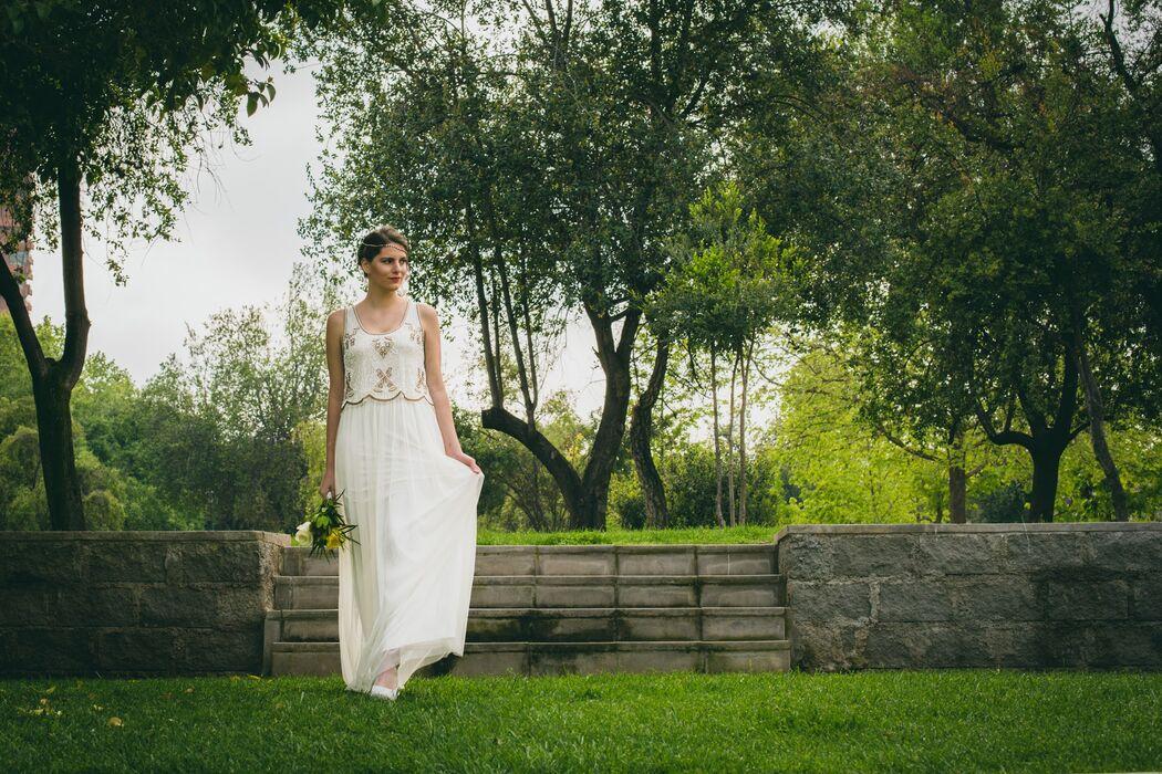 Vestido de novia civil
