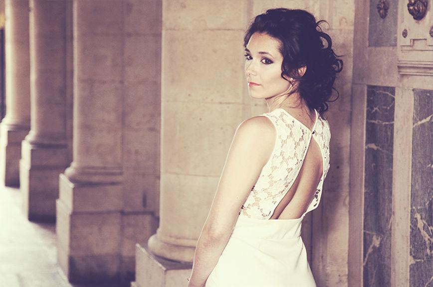 Agnès Paya - coiffure de mariée