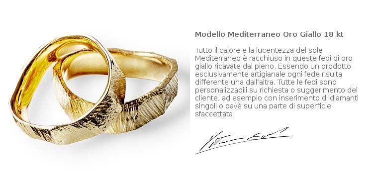 Fedi Matrimoniali Efrem Guidi Oro rosa LGBT community gay Wedding Italy Milano Brera Modello Mediterraneo