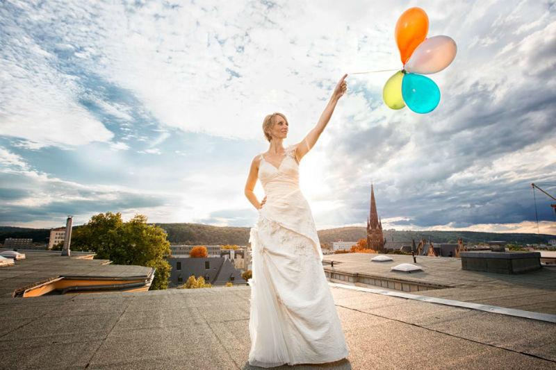 Beispiel: Trash the Dress - Shootings, Foto: Colorwork Photography.