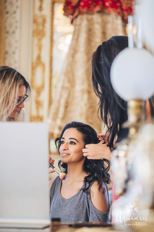 Bride : Tejal Wedding Planner : Details Event Planning Hair by : Tania De Sousa - HairStylist  MakeUp by : Cláudia Água Make Up  Photography by : Aguiam Wedding Photography  Video by : VIP Weddings Films Hotel : Onyria Resorts Venue : Tivoli Hotels & Resorts - Tivoli Palácio de Seteais