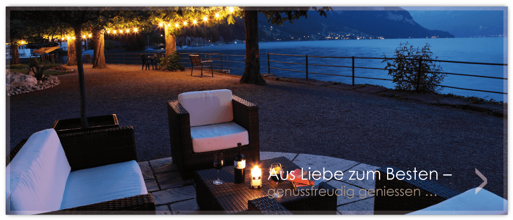 Beispiel: Terrasse, Foto: Parkhotel Gunten.