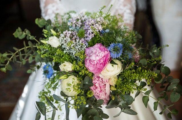 Bouquet de marié Emmanuelle Fabre