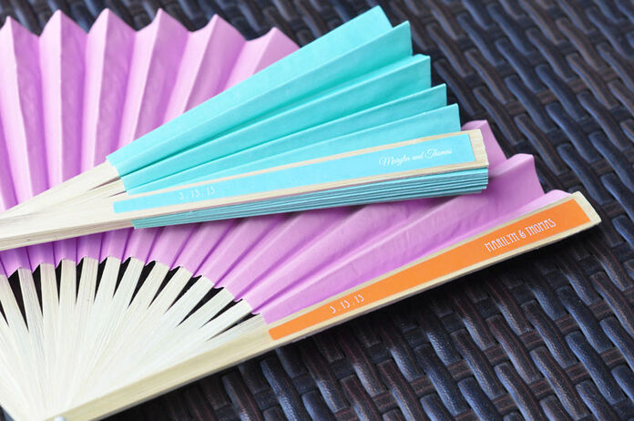 Nuevos! Abanicos de papel, personalizados!