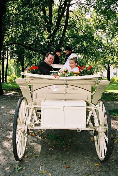 Reitstall Klinke Hochzeitskutschen