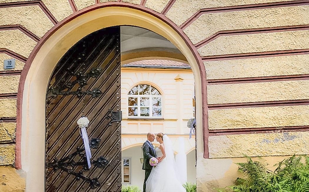 Torbogen zum Schlossinnenhof