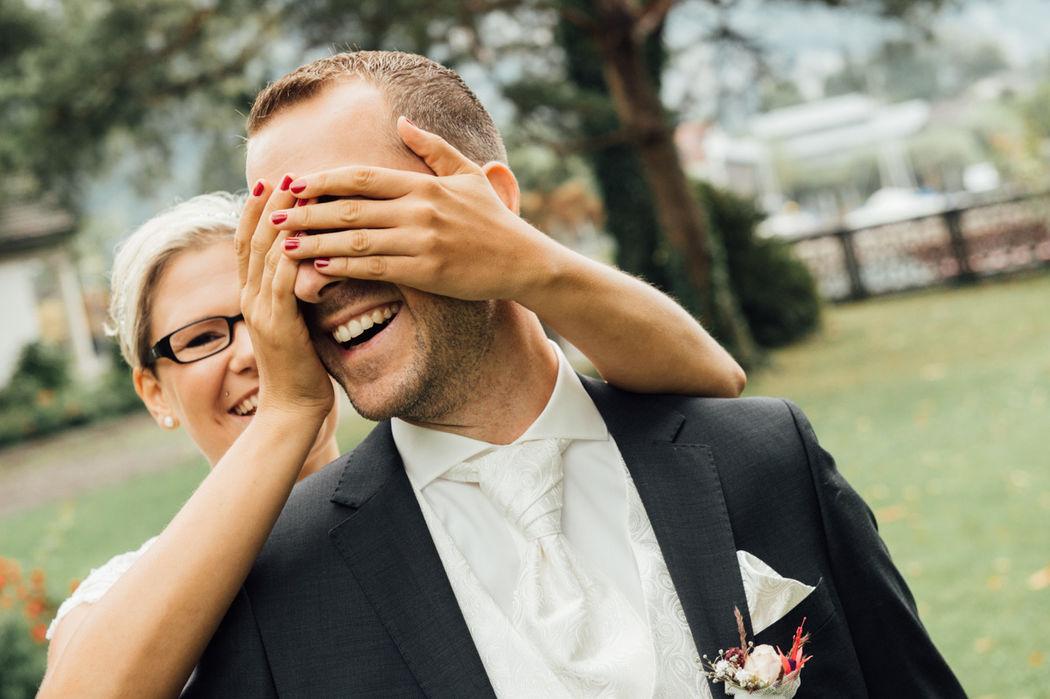 First look bei Hochzeit