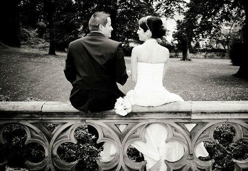 Beispiel: Portrait des Brautpaares, Foto: Alexander Vejnovic.