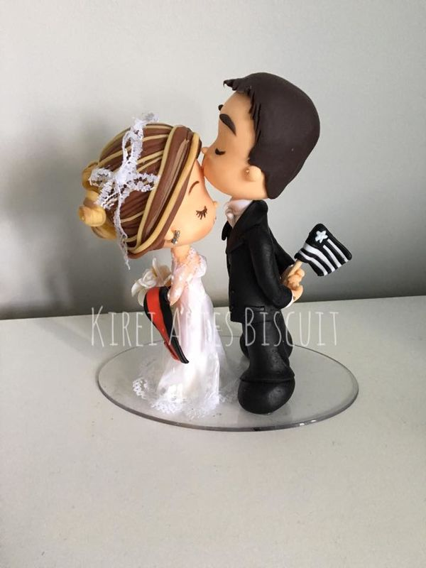 Topo de bolo - Karina K. Ishida - Arte em Biscuit
