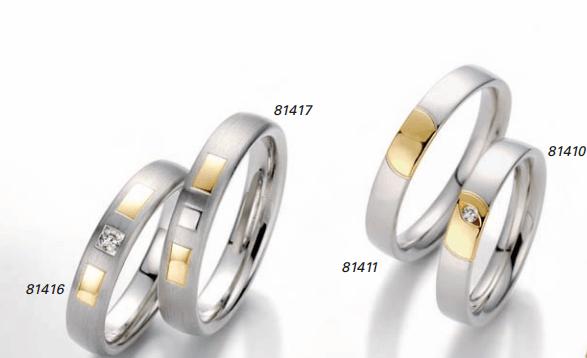 Beispiel: Verwendung verschiedener Materialien, Foto: Juwelier Bichler.