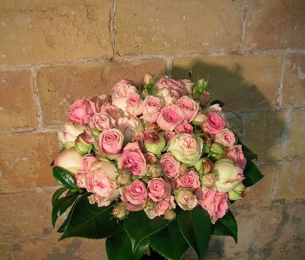 Decoración floral nupcial