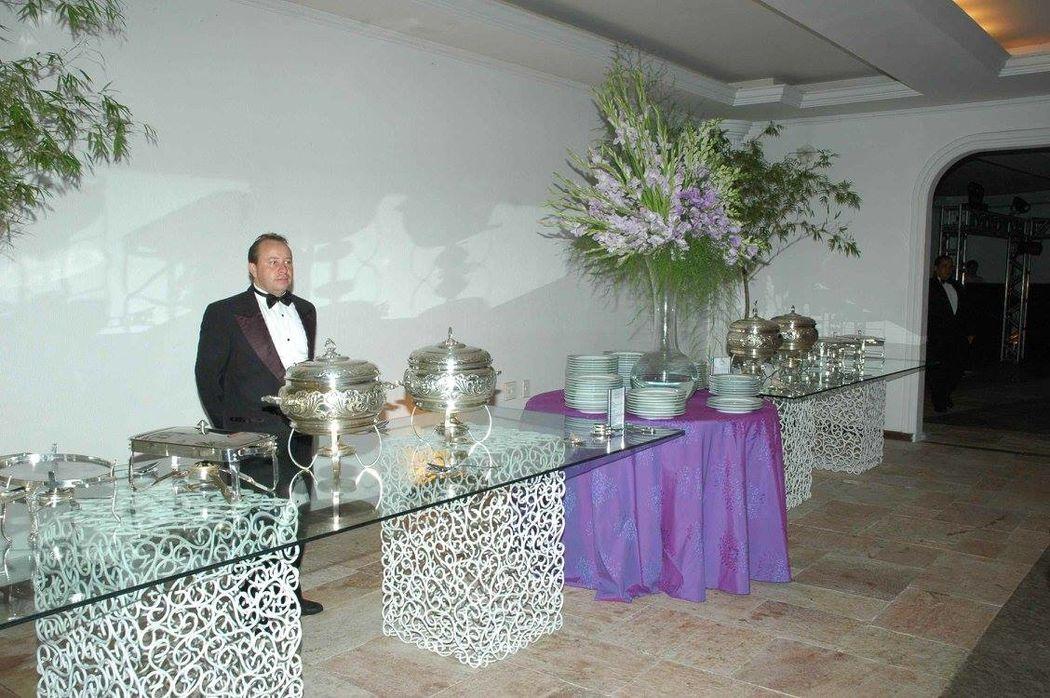 Diamond Buffet e Decoração