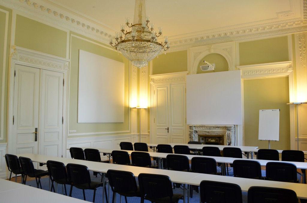 Beispiel: Tagung in der Villa Manskopf, Foto: Villa Manskopf.