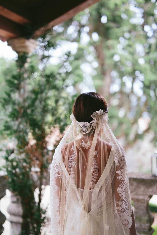 Vestido Pilar Bande Atelier. Fotografía: Volvoreta