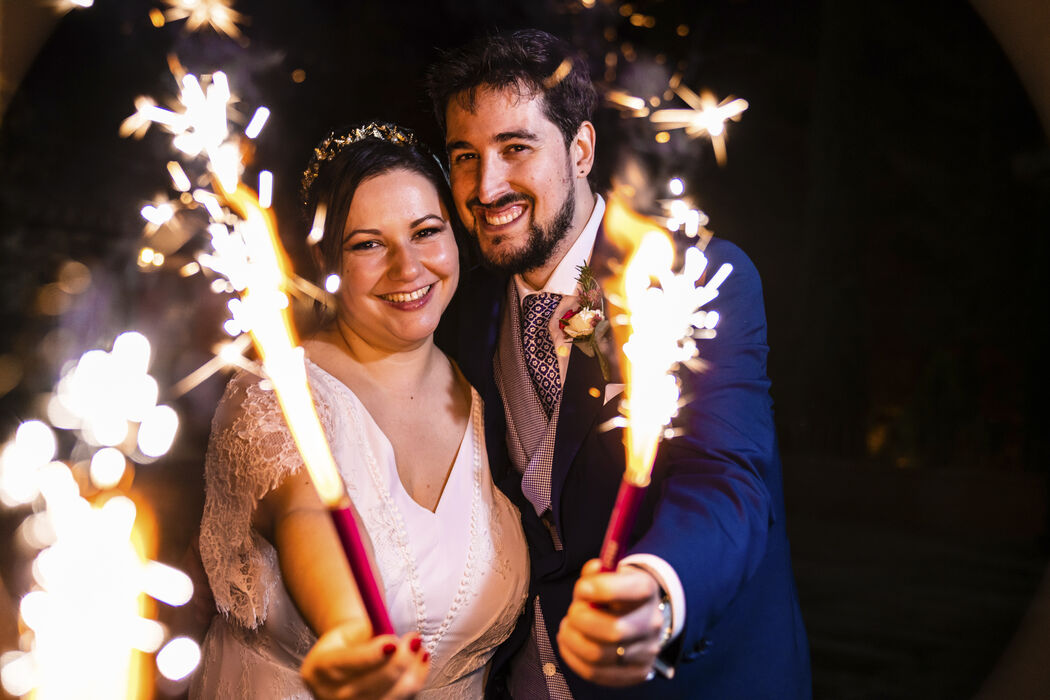 Wedding Lights Photo
