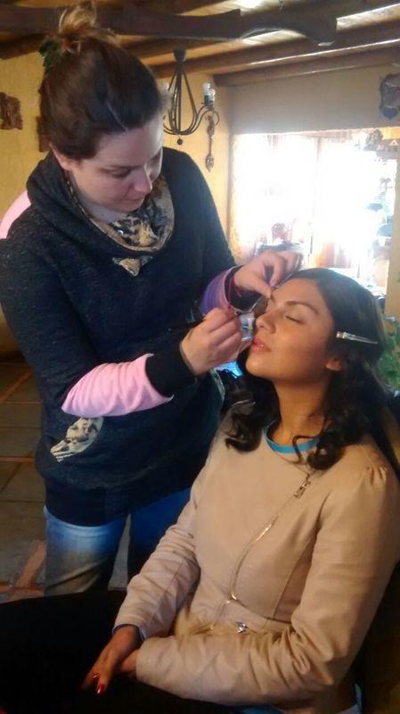 Maquillaje Clo Dehnhardt
