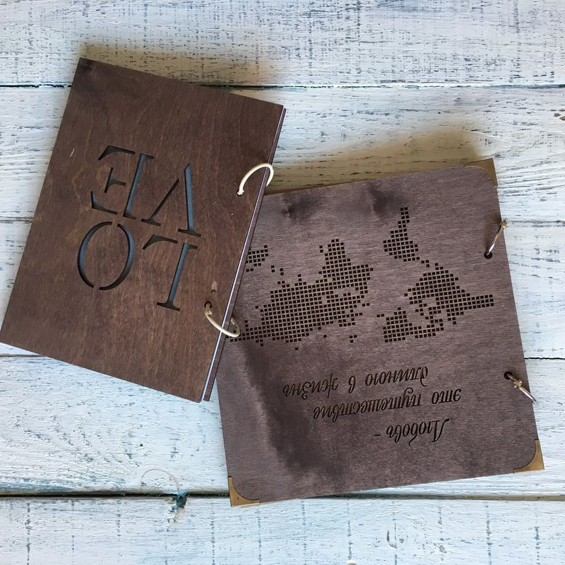 Wooden Word - деревянный декор
