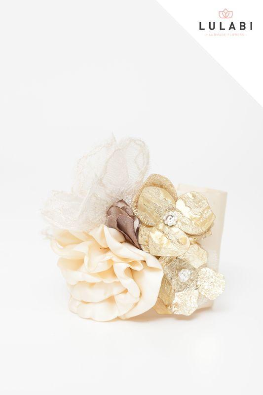 LULABI Handmade Flowers/Brazalete