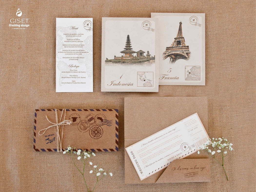 Giset Wedding - Branding para bodas