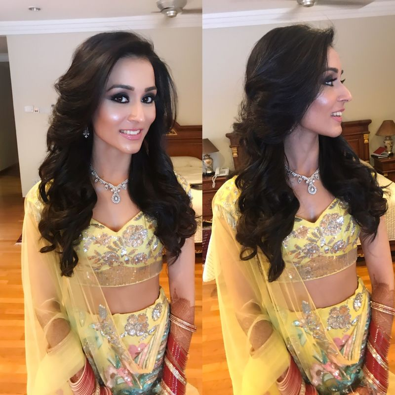 Ojas Rajani, Celebrity Makeup Artist and Hair stylist