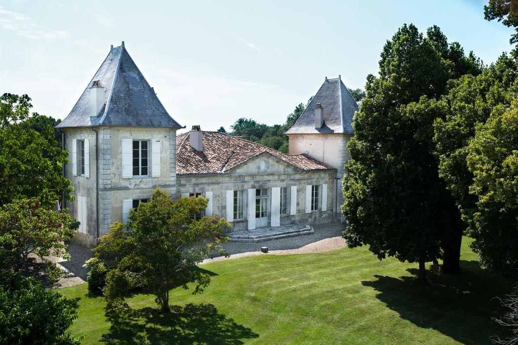 Château de Hitte Côté Jardin