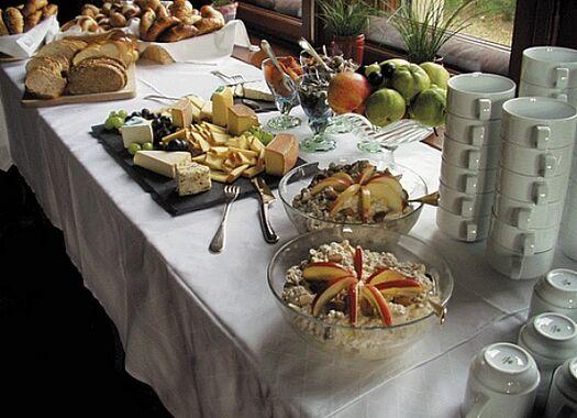 Beispiel: Buffetvorschlag, Foto: Villa Boveri.