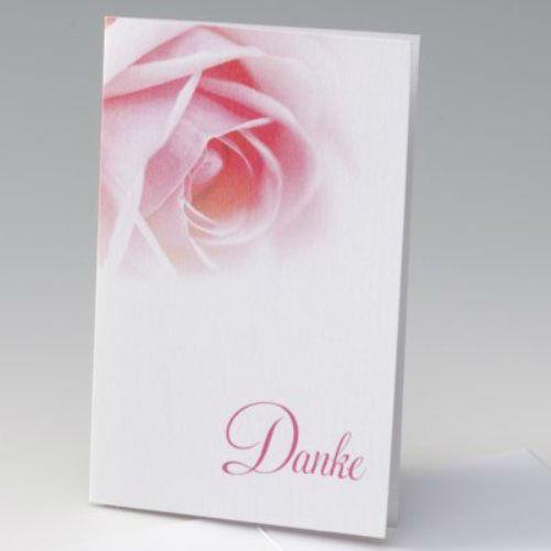 Beispiel: Danksagungskarten, Foto: Der-hochzeitskartenshop.de.