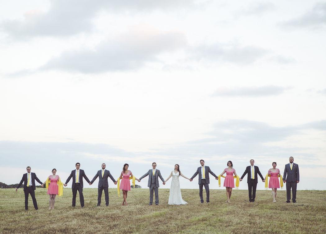Festival style wedding Hawthbush Farm, ERast Sussex