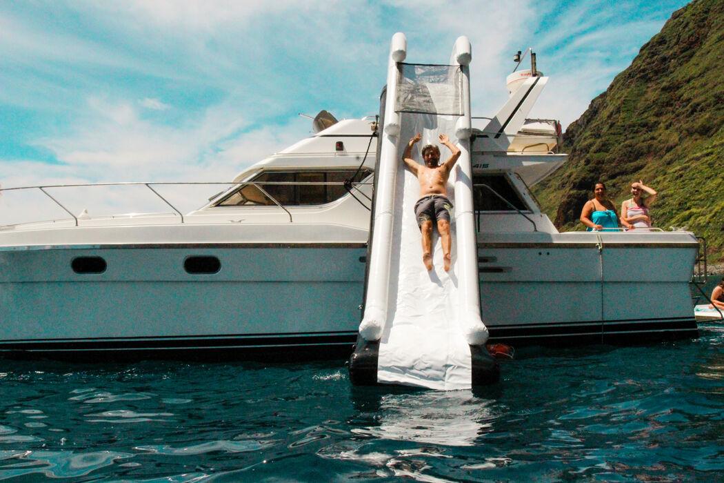 Macraloha Tropical Events | Casamento num iate