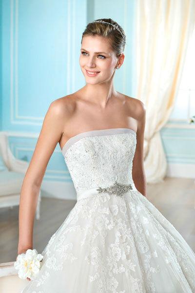 Beispiel: Wunderschöne Brautmode, Foto: Mery's Couture Bern.