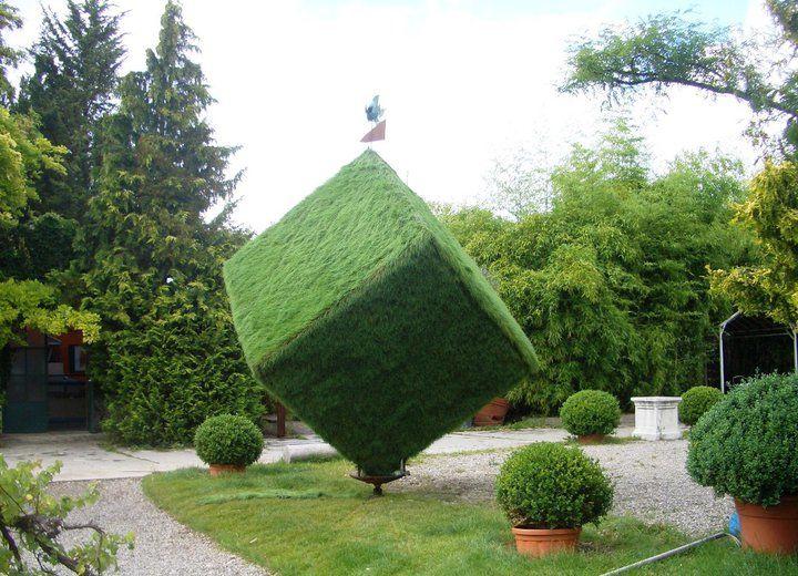 Beispiel: Künstlerische Gartenanlage, Foto: Botanikum.