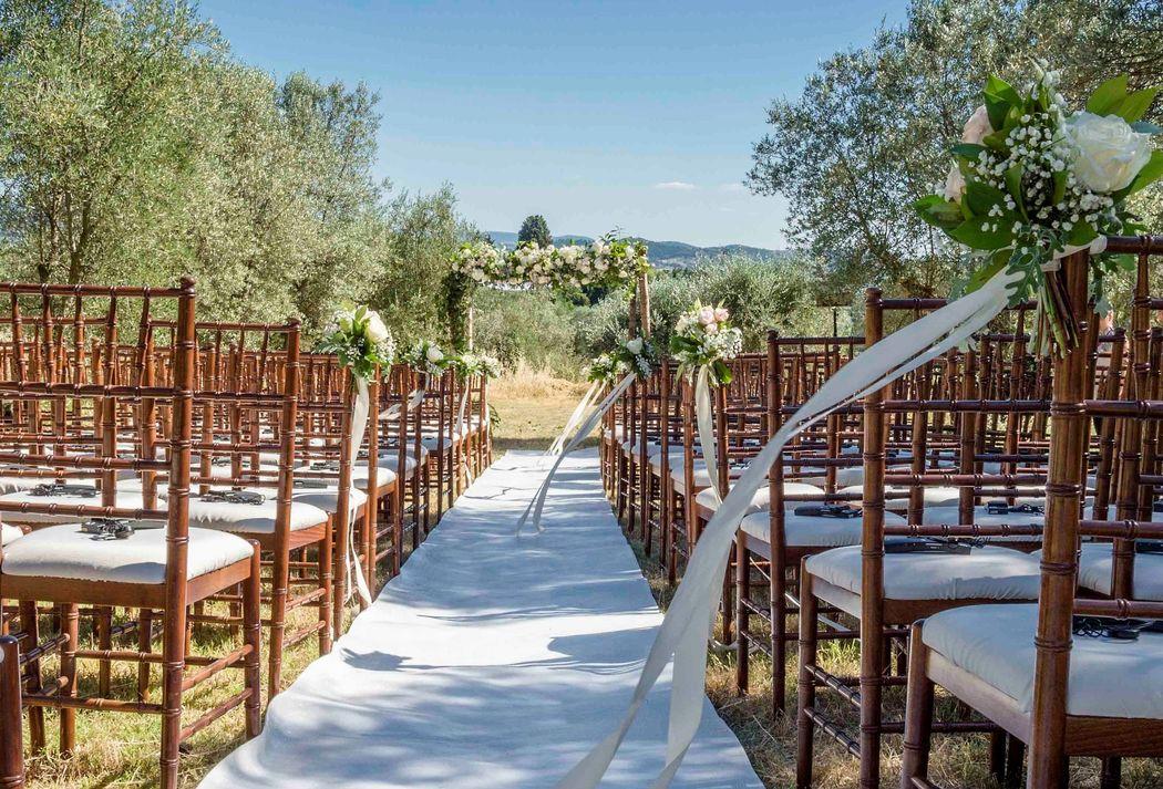 Evento Ideale: Cerimonia in giardino