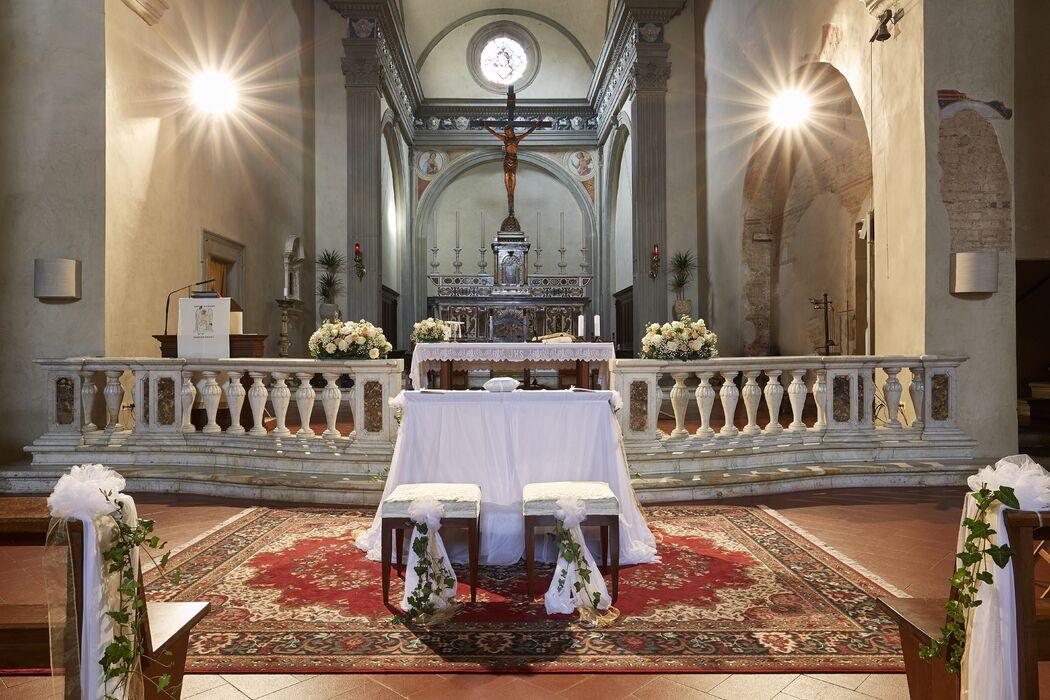 Evento Ideale: Chiesa allestita
