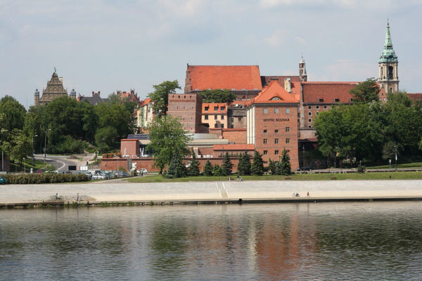 Hotel Bulwar w Toruniu