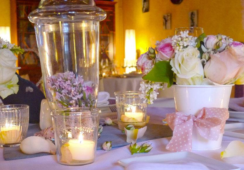 Good Moon - Décoration de Mariage en Avril Fleur du Jardin : Lilas