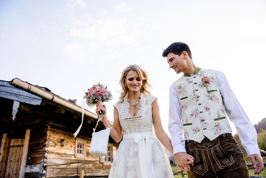 Pia Maria & Leopold - Hüttenhochzeit am Tegernsee