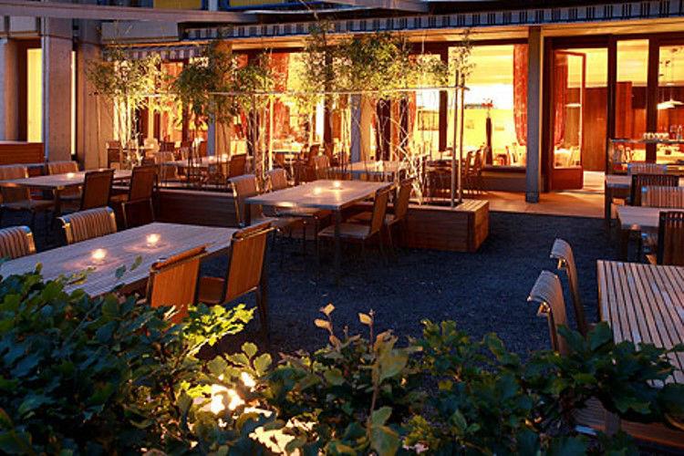 Beispiel: Gemütliche Terrasse, Foto: Hotel Heiden.