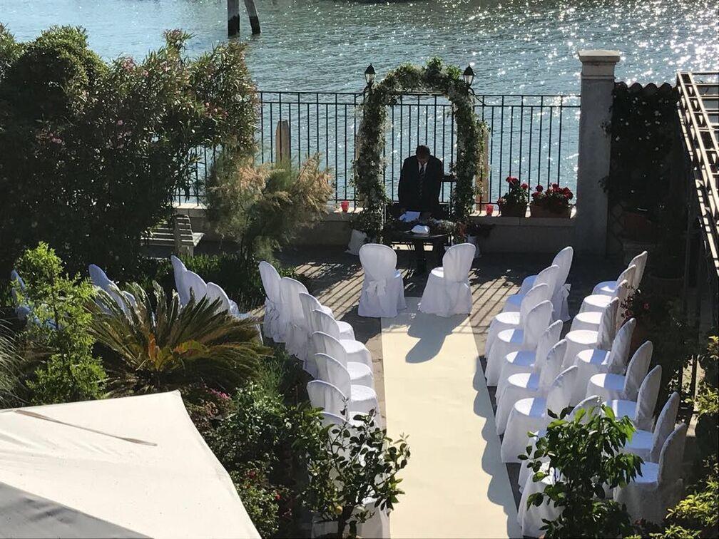 Una cerimonia simbolica