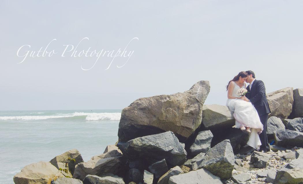 Matrimonio Vero y Kike El amor y mar
