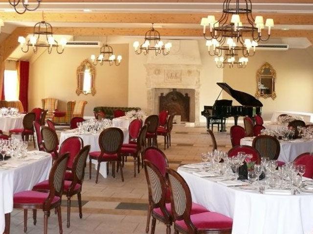 Salle de banquet du Château d'Augerville