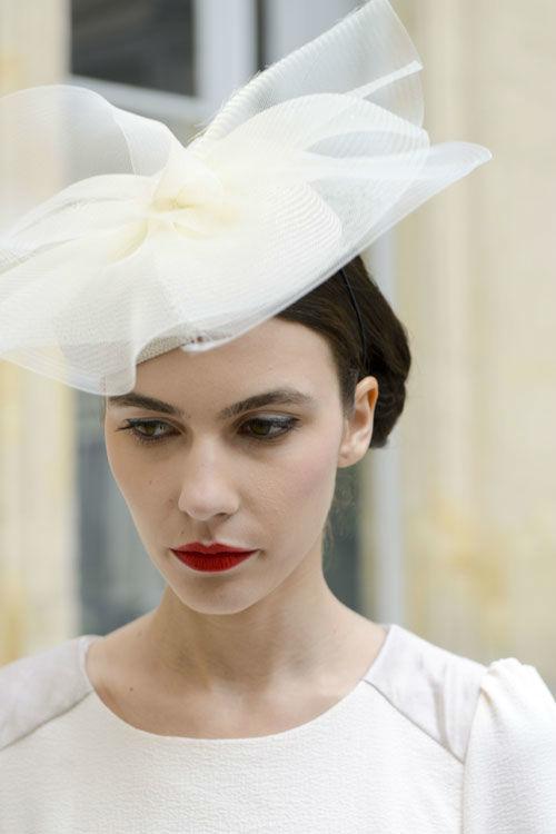Mademoiselle Chapeaux - Coiffure mariée