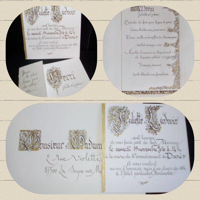 Anne-Sophie Davoli calligraphe